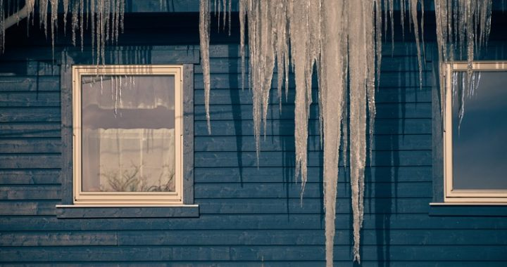 icicles forming on your gutters is the first indication ice dams may be an issue
